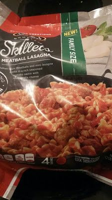 Steven Helmer Publications: Review of Stouffer's Complete Skillets Meatball La...