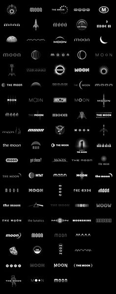 40 Creative Moon Logo Design examples for your inspiration | Read full article: http://webneel.com/moon-logo-design-inspiration | more http://webneel.com/logo-design | Follow us www.pinterest.com/webneel