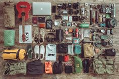 This is everything I own for the past 8 months. Check out the full gear list here.