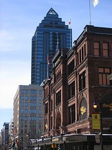 Compagnie de la Baie d'Hudson — Wikipédia Rue Sainte Catherine, Luxury Store, Canada, Hudson Bay, Empire State Building, Places Ive Been, Multi Story Building, United States, Pictures
