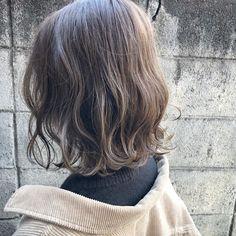 Hair Colour Design, Hair Color, Medium Permed Hairstyles, Medium Hair Styles, Curly Hair Styles, Ash Brown Hair, Hair Arrange, Brunette Hair, Love Hair