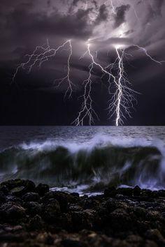 Craig Eccles, fotógrafo de tormentas (© Craig Eccles / Solent News / Rex Features)