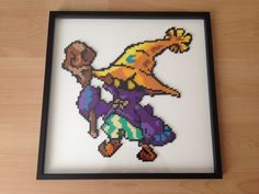 Black Mage From Final Fantasy's Universe hama perler beads by Moukoudoo