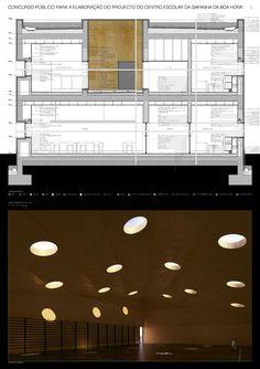 André Campos . Joana Mendes Arquitectos, Armenio Teixeira · Concurso para o Centro Escolar da Gafanha da Boa Hora