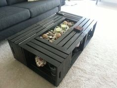 Crate Coffee Table Plan | Table Edge
