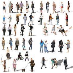 Desde VIShopper llegan estas dos colecciones con 56 y 23 escalas humanas para descargar gratis. Los paquetes incluyen imágenes de personas en formato .PSD, listas para ser insertadas en tus renders.