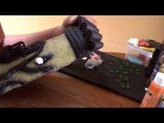 Teja Decorada - Paso 5: Pintado de la Teja - YouTube