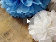 Mit diesen Pompoms ist eine zauberhafte Atmosphäre bei Eurer nächsten Feier garantiert!