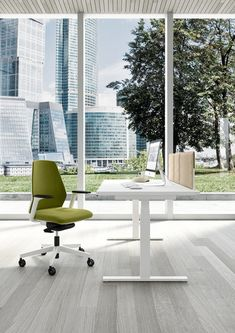 Up&Up collection of desks and benches adjustable in height, according to the user's benefit. To the typical sedentary nature of the office environment, we oppose a product which encourages action and alternance between the sitting and standing position. Office Furniture, Office Decor, Outdoor Furniture Sets, Outdoor Decor, Office Chairs, Desk Office, Furniture Design, Adjustable Height Table, Sit To Stand