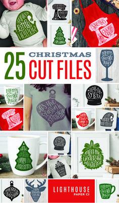 Quality Printables and Digital Designs for the DIY-er by LighthousePaperCoNC Cricut Christmas Ideas, Christmas Signs, Christmas Art, Xmas, Cricut Craft Room, Cricut Vinyl, Cricut Tutorials, Cricut Ideas, Circuit Crafts