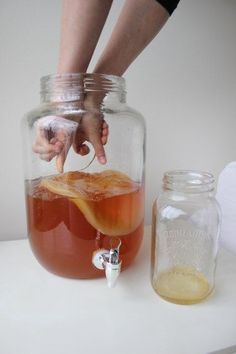 Beginners Guide to Kombucha: Continuous Brew | More delicious recipes and nutrition articles at www.pickuplimes.com