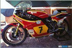 Xr 27 sheene Motorcycle Racers, Racing Motorcycles, Texaco, Old Bikes, To Infinity And Beyond, Motogp, Grand Prix, Yamaha, Champion