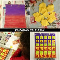 Karima's Crafts: Ramadan Calendar - 30 Days of Ramadan Crafts