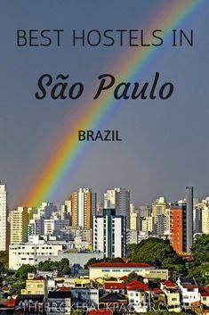 Best hostels in Sao paulo Brazil