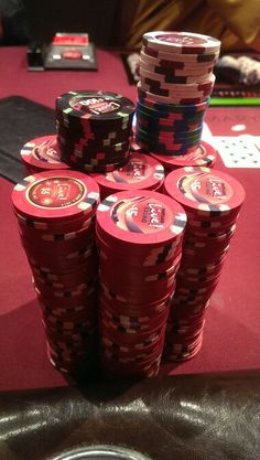 #Stacked At The MGM #Poker Room! Http://www.allvegaspoker.com/room_26.html  | Poker | Pinterest