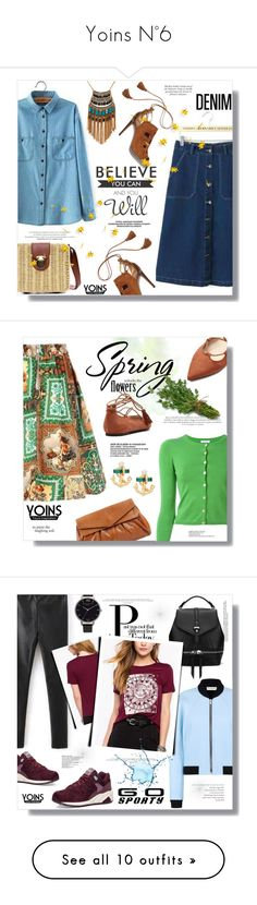 """""""Yoins N°6"""" by sans-moderation ❤ liked on Polyvore featuring Spring, yoins, Aquazzura, Leslie Danzis, WALL, denim, polyvorecontest, P.A.R.O.S.H., Gherardini and Olivia Burton"""