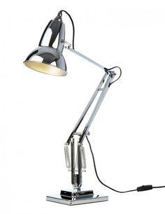 lámpara original 1227 cromo brillo anglepoise sobremesa