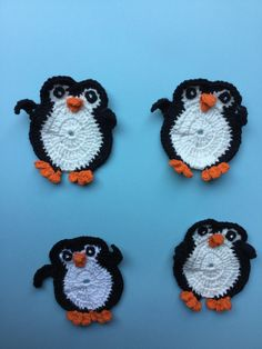 Get the free crochet pattern for this penguin.