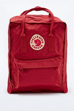 6c3b2f4e4ac2 Fjallraven Kanken Classic Backpack in Deep Red - Urban Outfitters Fjallraven