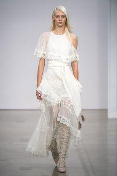 Zimmerman, Spring 2017 - Wedding-Worthy Runway Dresses from New York Fashion Week - Photos