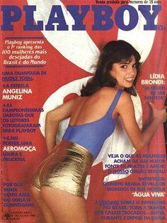 Lídia Brondi - Playboy Magazine Cover [Brazil] (July 1980)