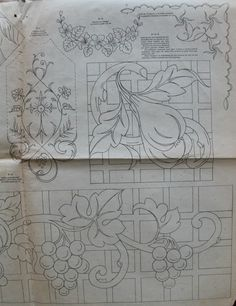 Lace Patterns, Embroidery Patterns, Journal Vintage, Cutwork Embroidery, Surface Pattern Design, Crochet Stitches, Needlework, Stencils, Wallpaper
