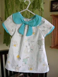 """""""Such sweet bunnies made the perfect print for a dress I adpre this print!"""" -Raechel H. Bunnies, Summer Dresses, Blouse, Sweet, Fabric, Red, Beautiful, Collection, Tops"""