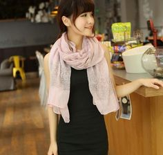 Porcelain Style Thin Section the Silk Floss Women Scarf Shawl