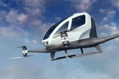 Self-Flying Taxi To Transport Passengers in Dubai Self Flying Taxi, Dubai, Transport Passengers, TechNews, Airborne Service, Vehicle Flying, Technology