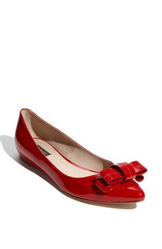 #red bow #flats