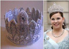 www.lillegitte.blogspot.com Maria Theresa, Royal Tiaras, Luxembourg, Knitting, Crowns, Crochet, Jewellery, Fashion, Moda