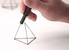 A 3D Printing Pen That Lets You Doodle In The Air, $130