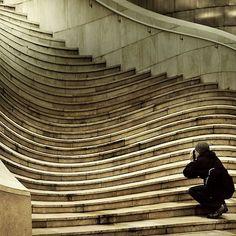 "ollebosse: "" Grand Staircase in House of Scientists, Lviv (Lemberg), Ukraine """