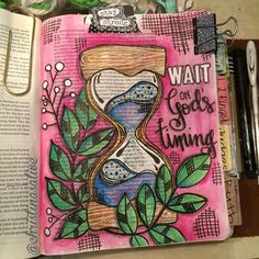 Bible Journaling by Christina Lowery @christinasalive | Joshua 14