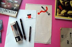 Rotring Pens (and CS10 artboard)