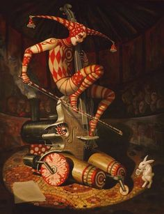 As impressionantes pinturas surreais de Adrian Borda