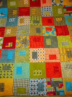 A Stitch in Color Quilt