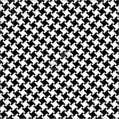 Illustration about A seamless, repeating vector houndstooth pattern in traditional black and white. Illustration of dogtooth, plaid, pattern - 3491441 White Patterns, Textures Patterns, Paper Illustration, Pillow Fabric, Art Icon, Leather Material, Repeating Patterns, Pattern Wallpaper, Abstract Pattern