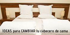 Cabeceros de Cama: Encuentra aquí + 50 Diy para hacer el tuyo propio Bed Pillows, Pillow Cases, Diy, Macrame, Furniture, Awesome, Home Decor, Bedroom Vintage, Pillow Beds
