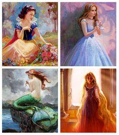 Painted princesses