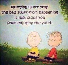 What worry does.............
