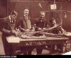 Autopsy Gallery | Vintage Medical School Photos | Vintage Medical School Photos4