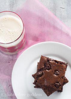 Dark Chocolate Brownies- The Best Gluten-Free Recipe Updated!