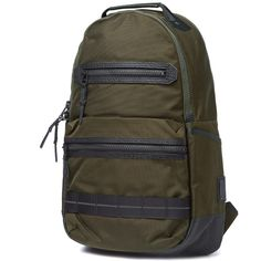 Master-Piece Ballistic Double Zip Backpack (Khaki Olive)