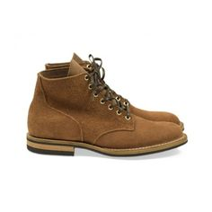 Service boot, Rust Horween Chromexcel Roughout Suede | No Man Walks Alone
