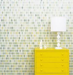 studio rita wallpaper via design*sponge