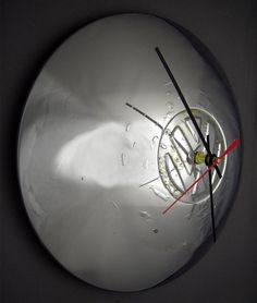 Volkswagen Bus / Ghia Hubcap Wall Clock - Retro VW Car Clock