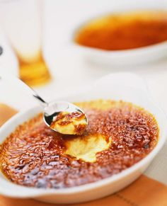 classic Creme Brulee - pair with Riesling