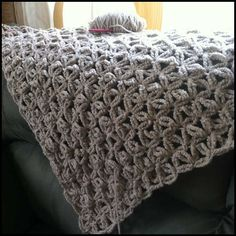 jennyhats is making this WIP crochet shawl using StitchDiva's celebrity shawl pattern and Berroco Flicker yarn