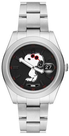 Il modello Rolex Datejust, customizzato da Bamford Watch Department con il brand di moda super pop Rodnik Band, è prodotto in soli 25 esemplari: per amatori.  The Snoopy Datejust X Rodnik X Bamford Watch Department -cosmopolitan.it